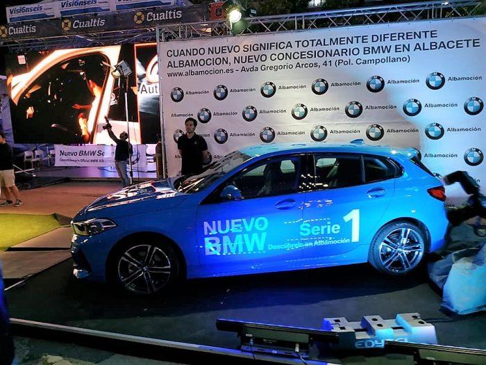 Personal en la Presentación BMW Serie1